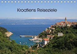 Kroatiens Reiseziele (Tischkalender 2019 DIN A5 quer) von Knof-Hartmann,  Claudia