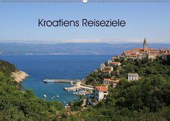 Kroatiens Reiseziele (Wandkalender 2019 DIN A2 quer) von Knof-Hartmann,  Claudia