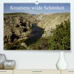 Kroatiens wilde Schönheit (Premium, hochwertiger DIN A2 Wandkalender 2021, Kunstdruck in Hochglanz) von Erlwein,  Winfried