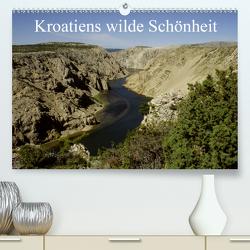 Kroatiens wilde Schönheit (Premium, hochwertiger DIN A2 Wandkalender 2020, Kunstdruck in Hochglanz) von Erlwein,  Winfried