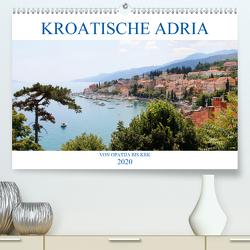 Kroatische Adria – Von Opatija bis Krk (Premium, hochwertiger DIN A2 Wandkalender 2020, Kunstdruck in Hochglanz) von Albilt,  Rabea