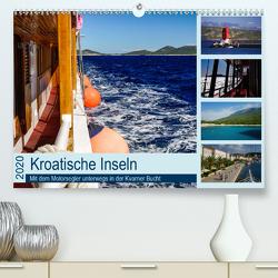 Kroatische Inseln – Mit dem Motorsegler unterwegs in der Kvarner Bucht (Premium, hochwertiger DIN A2 Wandkalender 2020, Kunstdruck in Hochglanz) von Liedtke Reisefotografie,  Silke