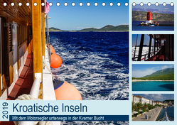 Kroatische Inseln – Mit dem Motorsegler unterwegs in der Kvarner Bucht (Tischkalender 2019 DIN A5 quer) von Liedtke Reisefotografie,  Silke