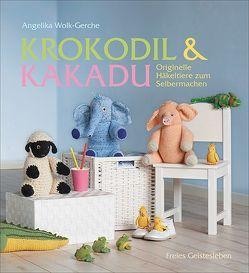 Krokodil und Kakadu von Wolk-Gerche,  Angelika