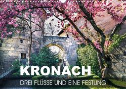 Kronach – drei Flüsse und eine Festung (Wandkalender 2021 DIN A3 quer) von Thoermer,  Val