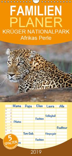 KRÜGER NATIONALPARK Afrikas Perle – Familienplaner hoch (Wandkalender 2019 , 21 cm x 45 cm, hoch) von Woyke,  Wibke