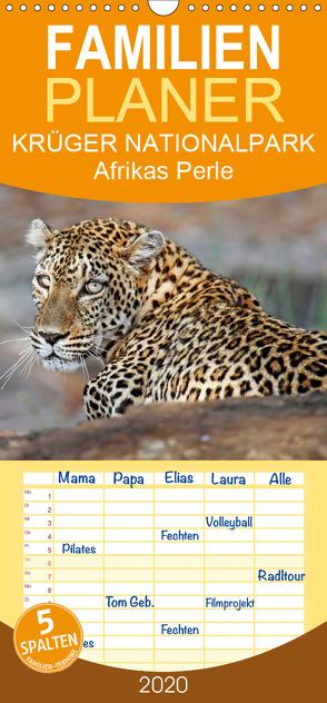 KRÜGER NATIONALPARK Afrikas Perle – Familienplaner hoch (Wandkalender 2020 , 21 cm x 45 cm, hoch) von Woyke,  Wibke