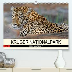 KRUGER NATIONALPARK Afrikas Perle (Premium, hochwertiger DIN A2 Wandkalender 2021, Kunstdruck in Hochglanz) von Woyke,  Wibke