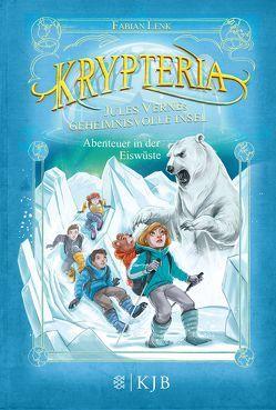 Krypteria – Jules Vernes geheimnisvolle Insel. Abenteuer in der Eiswüste von Grubing,  Timo, Lenk,  Fabian