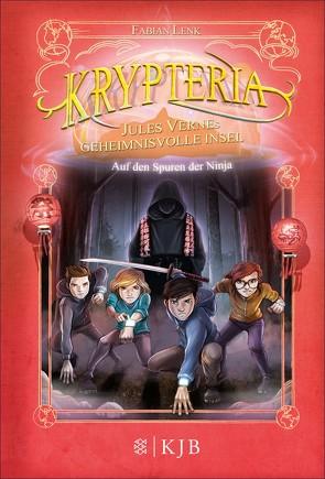 Krypteria – Jules Vernes geheimnisvolle Insel. Auf den Spuren der Ninja von Grubing,  Timo, Lenk,  Fabian