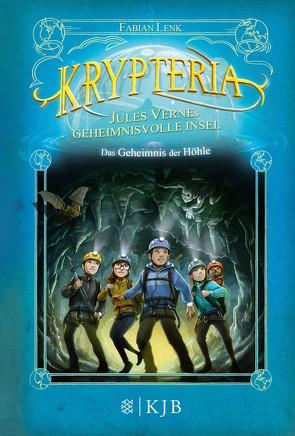 Krypteria – Jules Vernes geheimnisvolle Insel. Das Geheimnis der Höhle von Grubing,  Timo, Lenk,  Fabian