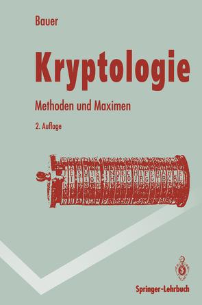 Kryptologie von Bauer,  Friedrich L.