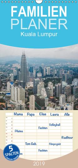 Kuala Lumpur – Familienplaner hoch (Wandkalender 2019 , 21 cm x 45 cm, hoch) von Gödecke,  Dieter