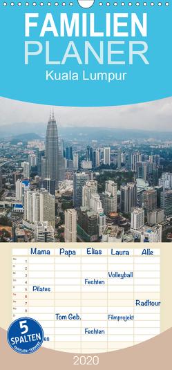 Kuala Lumpur – Familienplaner hoch (Wandkalender 2020 , 21 cm x 45 cm, hoch) von Gödecke,  Dieter
