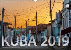 Kuba 2019 (Wandkalender 2019 DIN A3 quer) von Schrader,  Ulrich