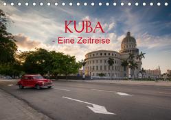 KUBA – Eine Zeitreise (Tischkalender 2019 DIN A5 quer) von Sußbauer,  Franz
