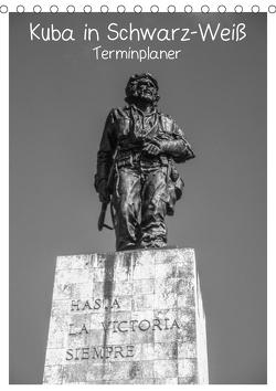 Kuba in Schwarz-Weiß (Tischkalender 2021 DIN A5 hoch) von Kaiser,  Ralf