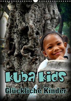 Kuba Kids – Glückliche Kinder (Wandkalender 2019 DIN A3 hoch) von von Loewis of Menar,  Henning