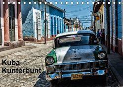 Kuba – Kunterbunt (Tischkalender 2018 DIN A5 quer) von Sommer,  Hans-Jürgen