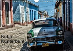 Kuba – Kunterbunt (Wandkalender 2019 DIN A4 quer) von Sommer,  Hans-Jürgen