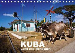 KUBA – Land und Menschen (Tischkalender 2018 DIN A5 quer) von Thiel (www.folkshow.de),  Marco
