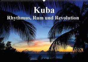 Kuba – Rhythmus, Rum und Revolution (Wandkalender 2018 DIN A2 quer) von Werner Altner,  Dr.