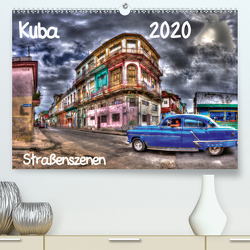 Kuba – Straßenszenen (Premium, hochwertiger DIN A2 Wandkalender 2020, Kunstdruck in Hochglanz) von Sturzenegger,  Karin