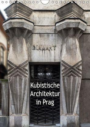 Kubistische Architektur in Prag (Wandkalender 2018 DIN A4 hoch) von Robert,  Boris