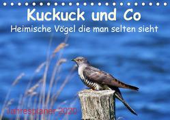 Kuckuck und Co – Heimische Vögel die man selten sieht – Jahresplaner 2020 (Tischkalender 2020 DIN A5 quer) von Schaack,  René