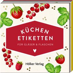 Küchen-Etiketten (Rote Beeren, Hölker Küchenpapeterie)