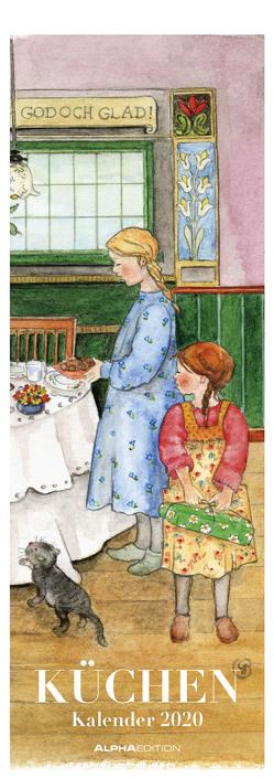 Küchenkalender 2020 – Streifenkalender (15 x 42) – Streifenplaner – Wandplaner – Küchenkalender von ALPHA EDITION
