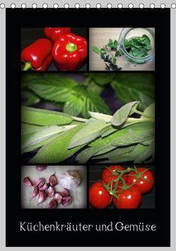 Küchenkräuter und Gemüse (Tischkalender 2019 DIN A5 hoch) von FotoBirgit