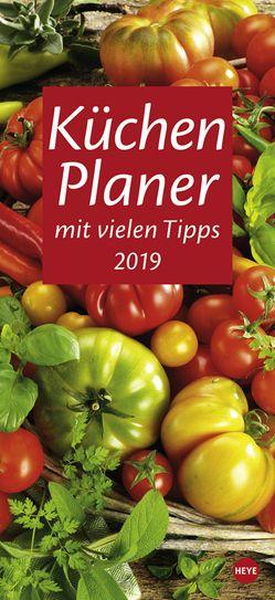 Küchenplaner – Kalender 2019 von Heye
