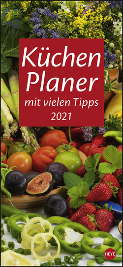 Küchenplaner Kalender 2021 von Heye