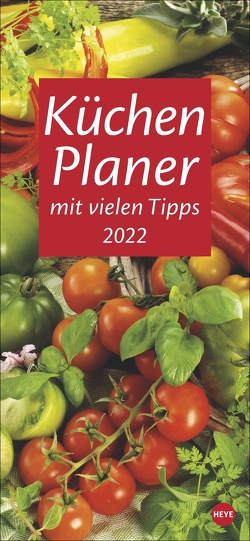 Küchenplaner Kalender 2022 von Heye
