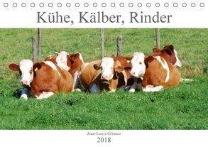 Kühe, Kälber, Rinder (Tischkalender 2018 DIN A5 quer) von Glineur,  Jean-Louis