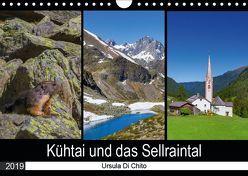 Kühtai und das Sellraintal (Wandkalender 2019 DIN A4 quer) von Di Chito,  Ursula