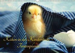 Küken in der Kinderstube Terminplaner (Wandkalender 2018 DIN A3 quer) von Riedel,  Tanja