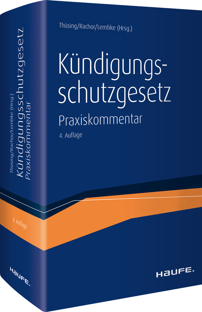 Kündigungsschutzgesetz Von Lembke Mark Rachor Stephanie Thüsing