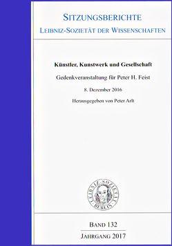 Künstler, Kunstwerk und Gesellschaft von Arlt,  Peter, Feist,  Michael, Jacobi,  Fritz
