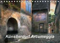 Künstlerdorf Arcumeggia (Tischkalender 2018 DIN A5 quer) von Kalkhof,  Joachim