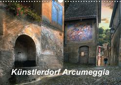 Künstlerdorf Arcumeggia (Wandkalender 2020 DIN A3 quer) von Kalkhof,  Joachim