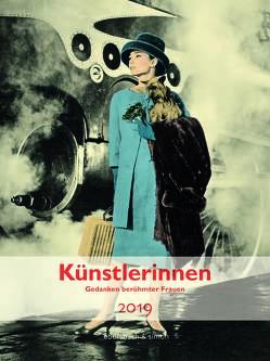 Künstlerinnen Kalender 2019 von Nadolny,  Susanne