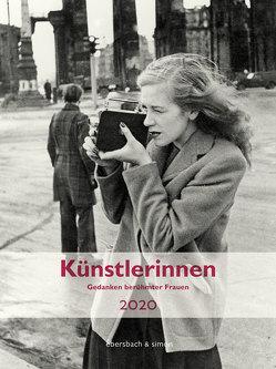 Künstlerinnen 2020 von Nadolny,  Susanne