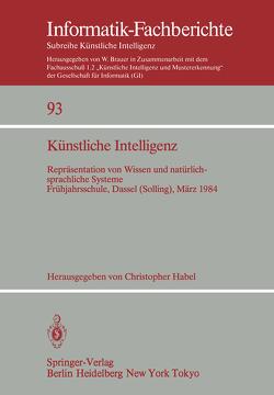 Künstliche Intelligenz von Habel,  Christopher
