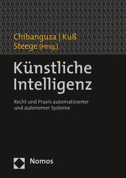 Künstliche Intelligenz von Chibanguza,  Kuuya Josef, Kuß,  Christian, Steege,  Hans