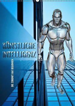 Künstliche Intelligenz – die Zukunft hat begonnen (Wandkalender 2019 DIN A2 hoch) von Bleicher,  Renate