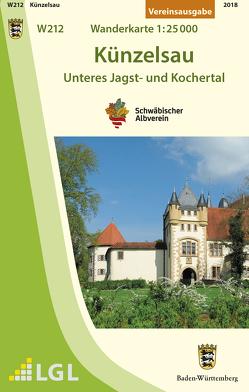 W212 Künzelsau – Unteres Jagst- und Kochertal von Schwäbischer Albverein e.V.