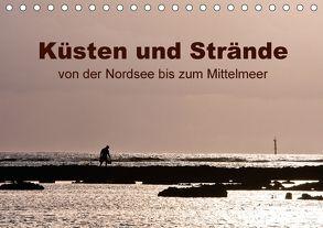 Küsten und Strände von der Nordsee bis zum Mittelmeer (Tischkalender 2018 DIN A5 quer) von Grupp,  Heiko