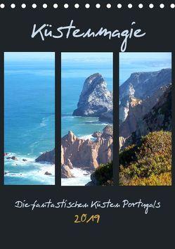 Küstenmagie – Die fantastischen Küsten Portugals (Tischkalender 2019 DIN A5 hoch) von Schimmack,  Michaela